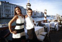 Rossella canevari con lo chef Massimo Livan