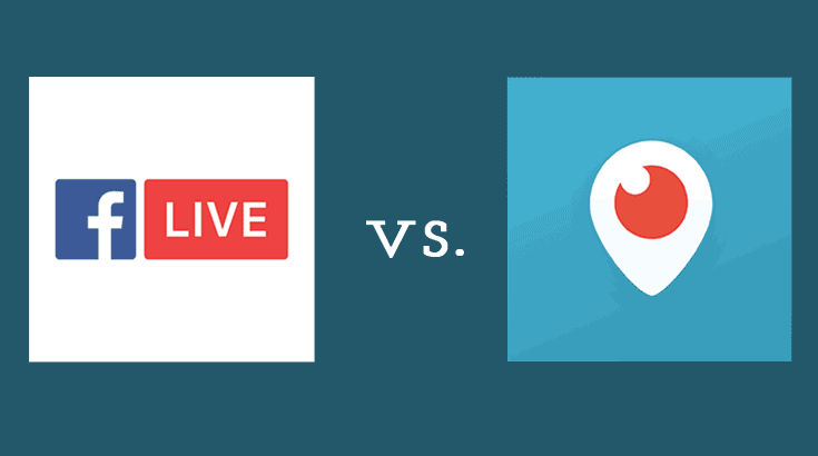 Live Streaming: FB live vs Periscope