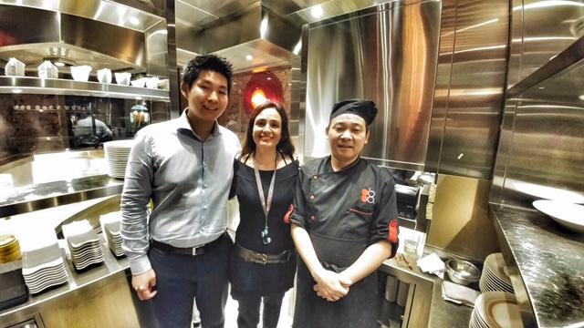 claudio Liu Rossella Canevari, lo chef di Ba