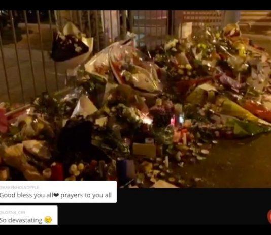 Il Bataclan la sera dopo gli attentati