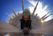 Un selfie sul tetto del Duomo di Milano a 360 gradi