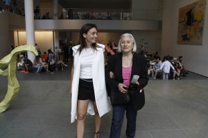 Mom and I at the Moma, NYC