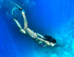Nuotando nelle acque Turche